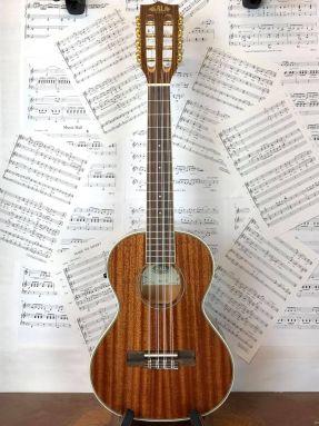 Kala KA-8E Electro Acoustic 8 String Tenor Ukulele Mahogany