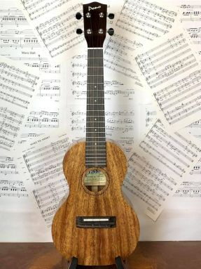 Pono ACD All Solid Acacia Deluxe Concert Ukulele Gloss