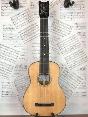 "Romero Creations B6-SM 21"" scale Baritone Guitalele Guilele Solid Spruce/Mahogany"