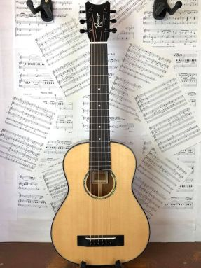 Romero Creations B6-S-SM Steel String Baritone Guitalele Guilele Solid Spruce/Mahogany