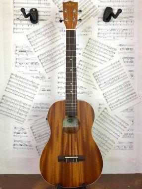 Kala KA-BE Electro Acoustic Baritone Ukulele Laminate Mahogany