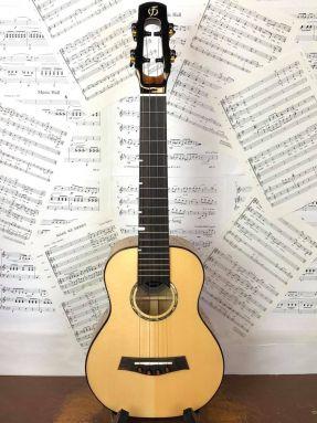 Flight Carabao All Solid Spruce/Mango Concert Ukulele w/Gigbag (SUS Exclusive) #3