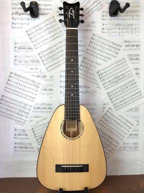 Romero Creations DH6-S-SM Daniel Ho Baritone Steel String Guitalele Solid Spruce/Mahogany