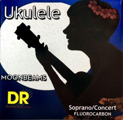 DR Strings - Moonbeams - Sop/Con Fluorocarbon High G Ukulele Strings