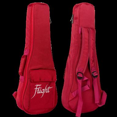Flight Deluxe Tenor Ukulele Gigbag - Red