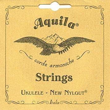 Aquila Nylgut Baritone A,E,C,G (GCEA) Ukulele Strings with D'Addario Low G 23U2