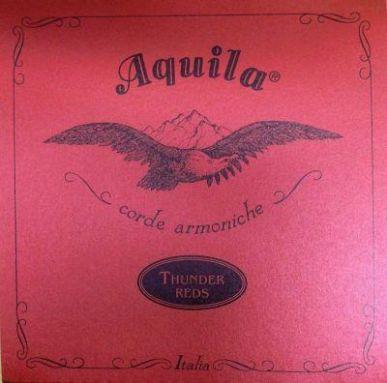 Aquila Thunder Reds Bass Ukulele Strings Red 91U - for uBasses