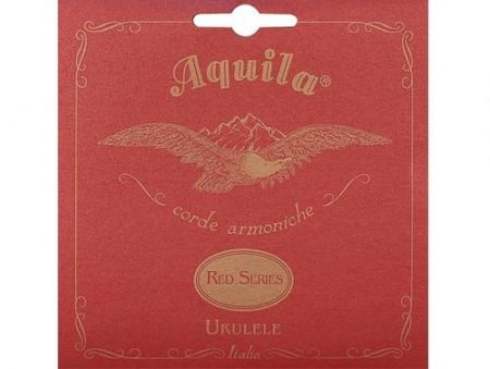 Aquila Red Nylgut Low G strings set of 4 for Concert ukulele 86U