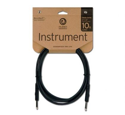 Planet Waves 10ft Classic Instrument Cable (ukulele to amplifier)