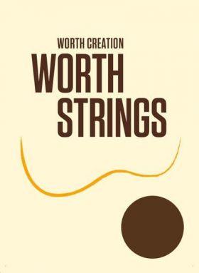 Worth B6 6 string Fluorocarbon Premium Ukulele Strings