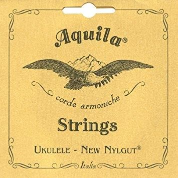 Aquila Nylgut Concert Ukulele Low G Strings 8U