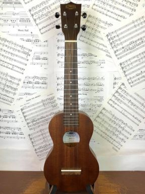 Kiwaya KSU-1L Long Neck Soprano Ukulele w/gigbag