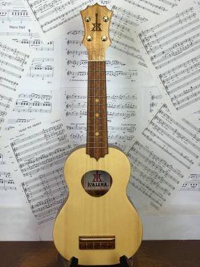 KoAloha Opio KSO-10S All Solid Wood Spruce Top Soprano Ukulele with gigbag no.1