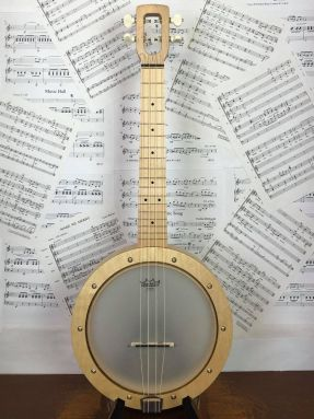 Magic Fluke Firefly M70M Tenor Ukulele Banjo Maple Wooden fretboard
