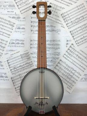 Magic Fluke Firefly M80W Soprano Ukulele Banjo Wooden fretboard