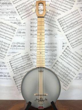 Magic Fluke Firefly M90M Maple Concert Ukulele Banjo wooden fretboard