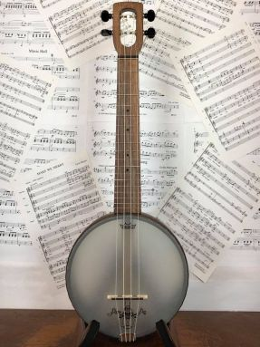 Magic Fluke Firefly M90W Concert Ukulele Banjo Walnut wooden fretboard