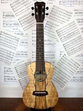 Kanile'a Islander MAC-4 Concert Ukulele Spalted Maple