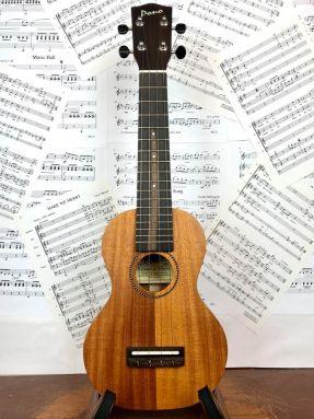 Pono MS All Solid Mahogany Soprano Ukulele Satin