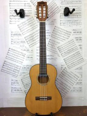 Kala KA-SCAC-B8 Solid Cedar Top 8 String Baritone Ukulele