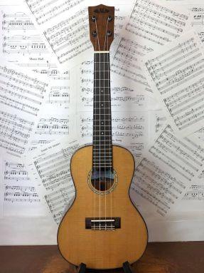 Kala KA-SCAC-C Solid Cedar Top Acacia Back and Sides Concert Ukulele