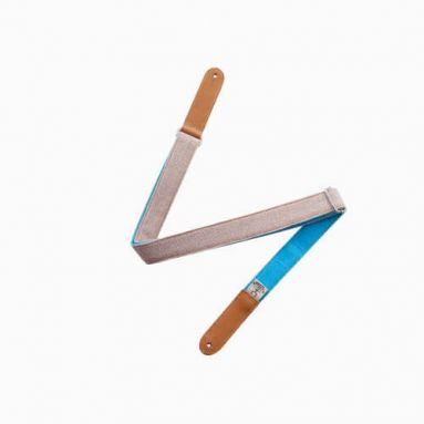 AnueNue US1BLU - Bird Skinny Ukulele Strap Blue