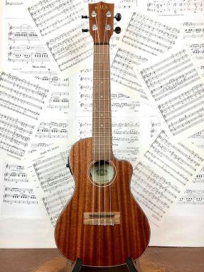 Kala KA-SMHCE-C All Solid Mahogany Electro Acoustic Concert Ukulele