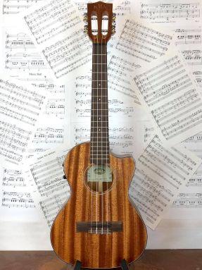 Kala KA-SMHTE-C All Solid Mahogany Electro Acoustic Tenor Ukulele