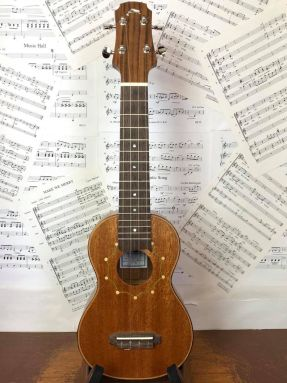 Tim Williams Solid Mahogany Soprano ukulele in gigbag