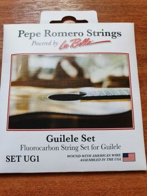 Pepe Romero UG1 Tenor Guilele Strings Fluorocarbon A - A tuning