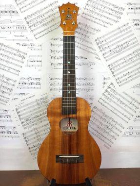 USED KoAloha KCM-00 All Solid Hawaiian Koa Electro Concert Ukulele in Case w/MiSi