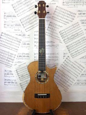 USED Maestro UT-CO All Solid Cedar & Cocobolo Tenor Ukulele w/MiSi Pickup