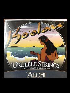 Ko'olau Alohi Clear Plain Concert High G Ukulele Strings