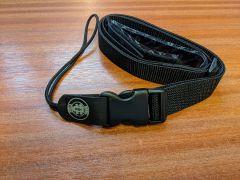 Magic Fluke Velcro/Quick Release Nylon Ukulele Strap - Black