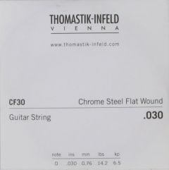 Thomastik-Infeld CF30 0.030 Gauge Chrome Steel Flat Wound string - Low G