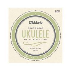 D'addario EJ53S Pro-Arté Rectified Ukulele Strings Soprano