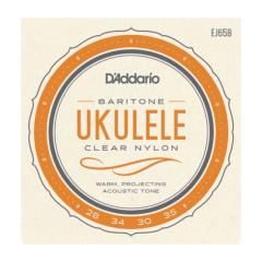 D'addario EJ65B Pro Arte Custom Extruded Baritone Uke Strings Wound 4th and 3rd