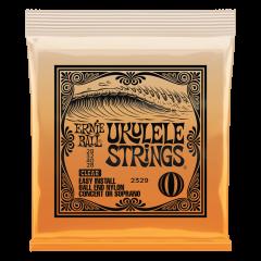 Ernie Ball Soprano/Concert Clear Nylon High G Ukulele Strings