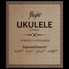 Flight Soprano/Concert High G Fluorocarbon Ukulele Strings