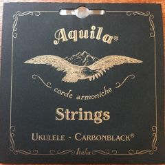 Aquila Carbon Black Concert Low G Ukulele Strings 149U DISCONTINUED