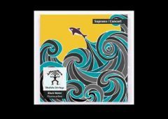aNueNue AS-BWSC Soprano/Concert Black Water Fluorocarbon Strings