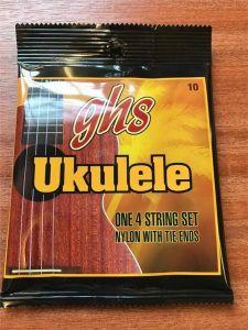 GHS Ukulele 10 Clear Nylon Sop/Con Strings
