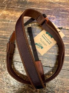 Righton Deluxe Dual Hook Strap/Leash Brown - No Strap Button required