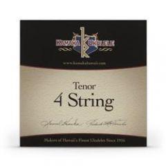Kamaka S-3 Tenor Ukulele Strings Black Nylon Set of 4