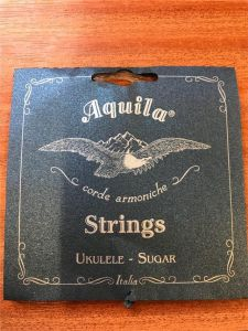 Aquila Sugar Clear Tenor Low G Ukulele Strings 155U