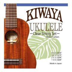 Kiwaya KFC Clear Fluorocarbon Ukulele String Set