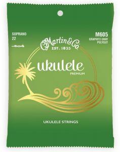 Martin M605 Polygut Soprano Ukulele Strings set of 4 High G