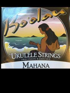 Ko'olau Mahana Clear Tenor Low G Ukulele Strings wound 3&4