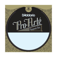 D'Addario J4504LP Lightly Polished Single Wound Low G Ukulele String