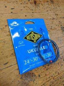 Rotosound RS85S-F Blue Nylgut Soprano Ukulele Strings High GCEA
